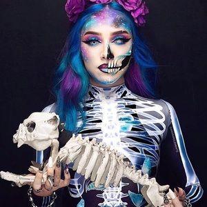 Badinka butterfly skeleton bodysuit